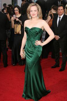Elisabeth Moss...Gorgeous....Beautiful dress, too.