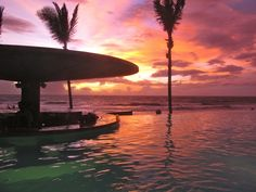 Sunset at Potato Head Bali In December, Places To Travel, Places To See, Bali Honeymoon, Bali Travel, Travel Memories, Heaven On Earth, Holiday Destinations, Nature Photos