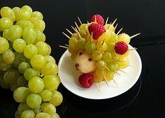 Ovocný ježek Still Life Art
