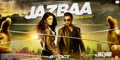 Jazbaa poster: Aishwarya Rai Bachchan and Irrfan Khan caught in a web of deceit! #Jazbaa  #AishwaryaRaiBachchan