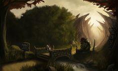Welcome to the Land of Trolls by Jorsch.deviantart.com on @DeviantArt