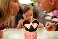 "Photo 13 of 24: Mickey & Minnie Mouse party / Birthday ""Tenley's 1st Birthday"" 