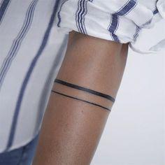 Resultado de imagen de armband line tattoo