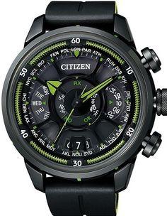 Citizen € 3500,- Wereld primeur Satellite Controlled, Eco-Drive horloge. 1000 stuks wereldwijd.  www.juweelco.nl