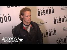 Sam Heughan Appears At 'Star Trek Beyond' NYC Premiere | Access Hollywood - YouTube