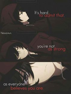 Trendy quotes deep feelings it hurts Sad Anime Quotes, Manga Quotes, Creepypasta Quotes, True Quotes, Best Quotes, Dark Quotes, Depression Quotes, Anime Depression, Inspirational Quotes
