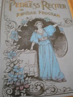 Vintage book 1894 in excellent collector's condition!