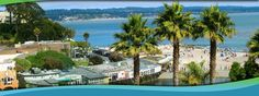 Capitola, an intimate beach village tucked in a river valley near Santa Cruz on the Monterey Bay with Deb 10/22/2012 http://www.tripadvisor.com/Tourism-g32168-Capitola_California-Vacations.html  http://www.capitolavillage.com/