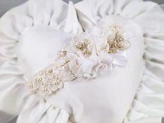 Bracciale damigella floral lace corsage wedding bridal white matrimonio sposa bianco pizzo organza perle