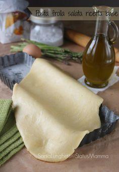 frolla salata ricetta base cucinare foto tutorial facile veloce economico bambini torta salata free vegetariano tutorial passo passo semplice veloce