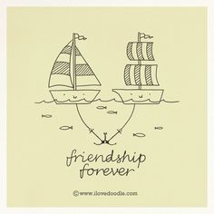 Friend-Ship Forever by Lim Heng Swee via Flickr.