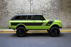 IH Scout II Rallye, the longer wheelbase Traveler version of the Scout. Toyota Trucks, Chevy Trucks, Pickup Trucks, International Scout Ii, International Harvester Truck, Cool Trucks, Big Trucks, Internacional Scout, Jeep Scout