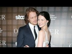 "▶ Outlander's Caitriona Balfe and Sam Heughan on Their ""Slightly Awkward"" Love Scenes - YouTube"