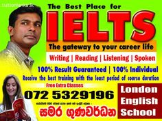 IELTS For Writing | Reading | Listening @ Kandy