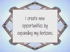 Daily Affirmation for January 18, 2013