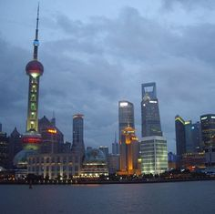 One of my favorite skylines in the world #Shanghai