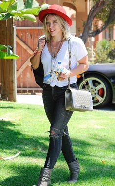 Hilary Duff from The Big Picture: Today's Hot Pics - Celebrity Street Style