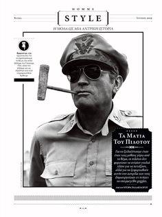 Manos Daskalakis Editorial Design work