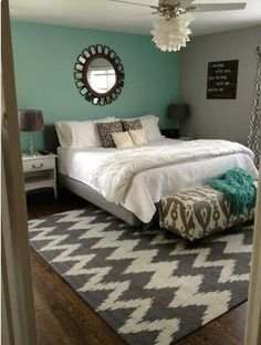 Cute bedroom for teen girls