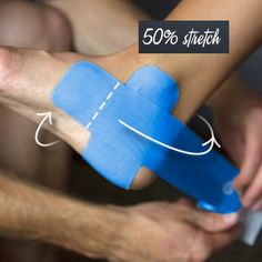 How to Tape an Ankle Sprain - Step 2