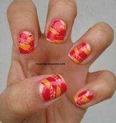 Braided nails.