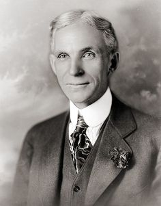 Henry Ford, funder of Ford Motor Company