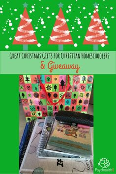 Great Christmas Gift Ideas for Christian Homeschoolers & Giveaway
