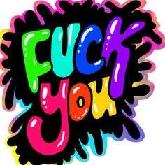 Fuck you hand lettering by Felicia Rotert Funny Iphone Wallpaper, Love Wallpaper, Cute Wallpaper Backgrounds, Pattern Wallpaper, Wallpapers, Rude Quotes, Boss Bitch Quotes, Graffiti Lettering Fonts, Hand Lettering