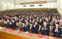조선인민군 제4차 수산부문열성자회의 참가자들에 대한 당 및 국가표창수여식 진행-《조선의 오늘》