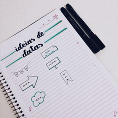 Lettering Tutorial, Lettering Design, Hand Lettering, Bullet Journal Tracker, Bullet Journal Ideas Pages, Notebook Organization, School Organization, Stabilo Boss, School Notebooks
