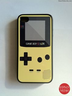 Awesome iphone case.... This is cool! .. I think I still have my game boy haha..