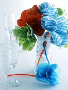 DIY:: Festive New Year's Flowers