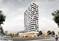 Delugan Meissl gewinnen Stadtteilzentrum in München-Neuperlach / Wohnen unterm Flugdach - Architektur und Architekten - News / Meldungen / N...