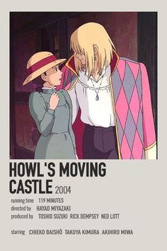 Howls Moving Castle, Howl's Moving Castle Movie, Movie Prints, Poster Prints, Poster Wall, Film Polaroid, Polaroids, Polaroid Display, Polaroid Wall