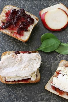 Turkey, Brie, Pear & Cherry Chipotle Panini recipe
