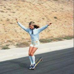 OldWIG Happening Vintage Photoshoot Inspiration #oldwig #vintage #inspiration #shooting #70s #skater #girl #hot #spring #summer