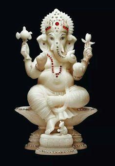 Ganesh in Marble.