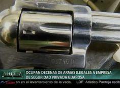 Ocupan Armas De Fuego Ilegales A Empresa De Seguridad