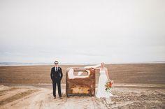 Washington Wheat Field Wedding: Sara + Jay