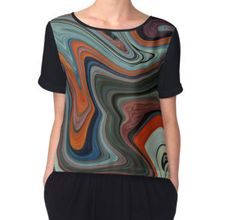 'Winches' Women's Chiffon Top available at http://www.redbubble.com/people/chrisjoy/works/4895859-winches