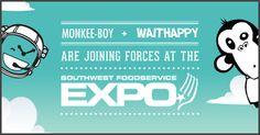 Missing Links: Austin Start Up WaitHappy at SouthWest Food Service Expo Mobile News, Missing Link, Competitor Analysis, Business Goals, Digital Marketing Services, Food Service, Web Design, Restaurant, Illustrations