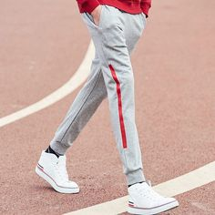 Pioneer Camp 2017 New arrival Spring pants men brand clothing casual trousers male top quality fashion men sweatpants Mens Capri Pants, Mens Jogger Pants, Marvel Clothes, Mens Fashion Wear, Fashion Outfits, Jogging Bottoms, Mens Sweatshirts, Trousers, Men's Pants