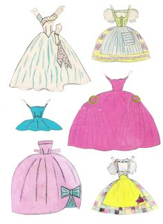 Vibs paper doll, handmade (3 of 5)