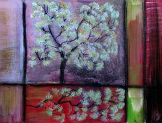 Frühling  - Original von *zeitgenössische kunst von maria-mercedes* auf DaWanda.com