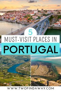 If you're planning a trip to Portugal, you must include these beautiful spots on your itinerary. Prettiest Spots in Portugal I Visit Portugal I Things to do in Portugal I Where to go in Portugal I Beautiful Viewpoints in Portugal I Free Activities in Portugal I What to do in Portugal I Portugal Itinerary I Free Things to do in Portugal I Tips to Travel to Portugal I Best Attractions in Portugal I Places to Photograph in Portugal I Porto I Lisbon I Algarve I Douro Valley #portugal #europetravel Portugal Destinations, Portugal Vacation, Portugal Travel Guide, Europe Travel Guide, Europe Destinations, Travel Guides, Visit Portugal, Spain And Portugal, Usa Places To Visit