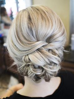 *Sarah's wedding bridesmaid hair ideas*