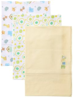 Amazon.com: Spasilk Unisex-Baby Newborn 3 Pack Burp Cloths, Yellow Baby, One Size: Baby
