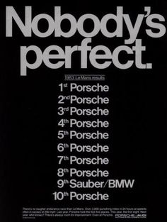 1983 LeMans Results!