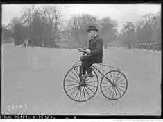 Ch. [Charles] Terront, 21/3/22 [sur un vélocipède Michaux] : [photographie de presse] / [Agence Rol] Boutique Velo, Bicycle, Vehicles, Google, Photography, Bike, Bicycle Kick, Bicycles, Car