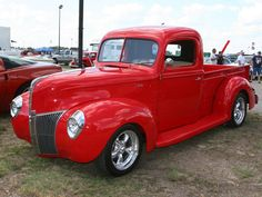1940 Ford pickup truck hot rod